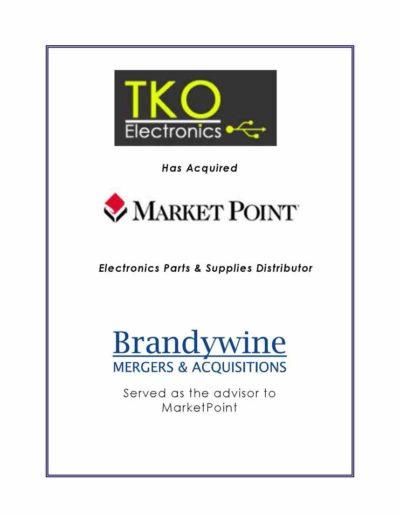 TKO Electronics acquires MarketPoint