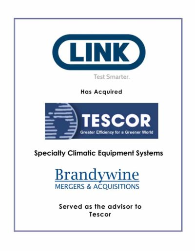LINK acquires TESCOR